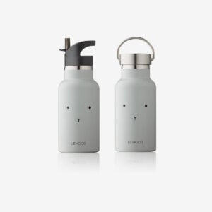Anker water bottle rabbit grey