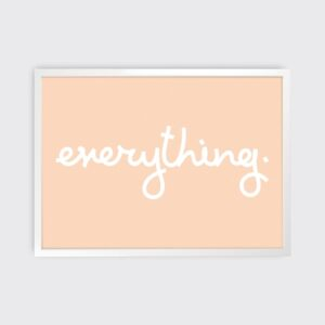 Tom Pigeon, Everything Print