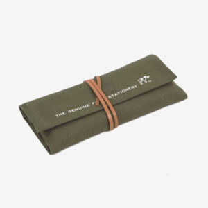 Japanese Pen/tools canvas roll, khaki