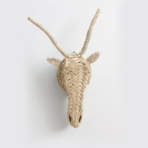 Handwoven Gazelle Head