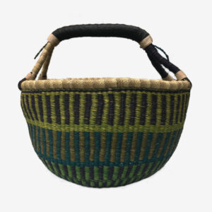 Bolga Basket Green and blue