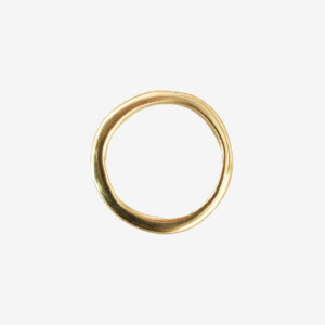 Medium Chunky gold ring