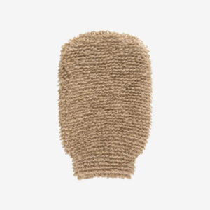 Flax massage glove