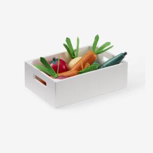 Wooden Veggie box