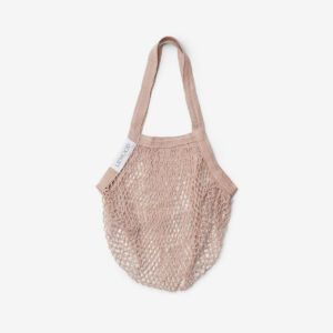 Mesi mesh tote bag rose