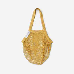 Mesi mesh tote bag mellow yellow