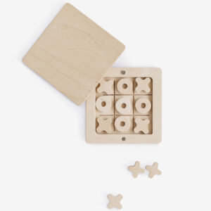 WOODEN BOARD GAME TIC-TAC-TOE