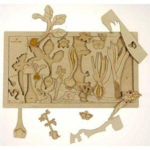 Secret garden puzzle