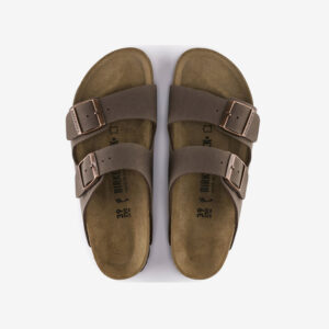 Arizona Birkenstocks Nubuck Mocca