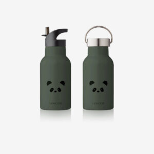 Liewood, Anker water bottle hunter green Panda
