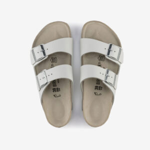 Arizona Birkenstocks White
