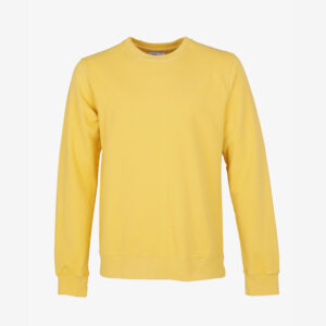 Classic Organic Sweatshirt Lemon Yellow