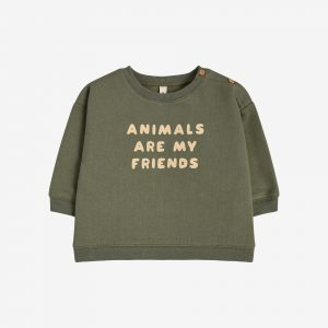 Organic Zoo, Animals are my friends sweatshirt