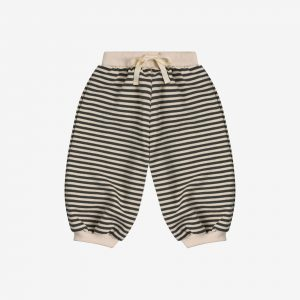 Organic zoo, stripes sweatpants