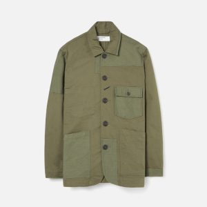 Universal Works Patched Mill Bakers Jacket