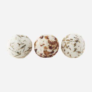 Shea Bath Ball, set of 3