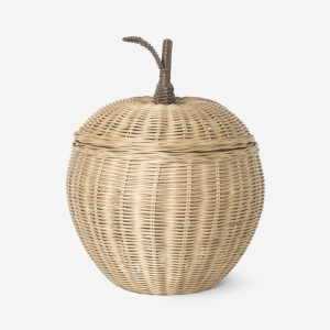 Ferm Living Braided apple basket small