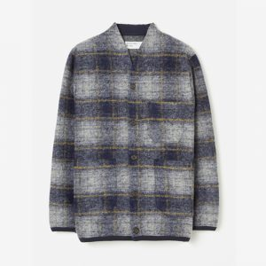 Universal Works Wool Fleece Cardigan Austin
