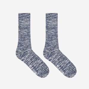 Universal Works Slub Sock, Blue