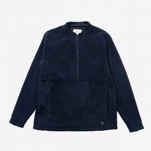 Folk Fleece Funnel, Navy