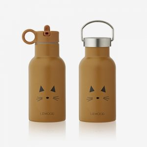 Liewood, Anker water bottle cat mustard