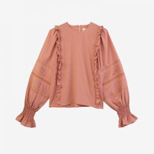 Meadows, Ione Top, Blush