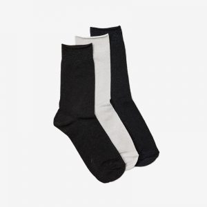 Danish Glitter Ankle Sock, Set of 3