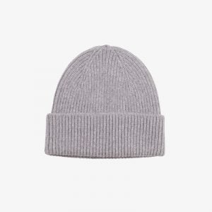 Merino Wool Hat Marl Grey