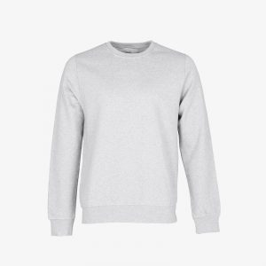 Mens Sweatshirt Snow Melange