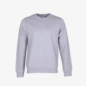Mens Sweatshirt Heather Grey