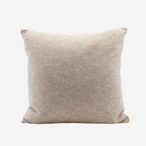 Lamb Wool Cushion Sand