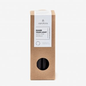 Sustainable Dinner Candles Black
