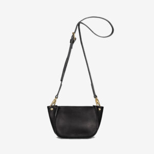 Agatha Black Grainy Handbag