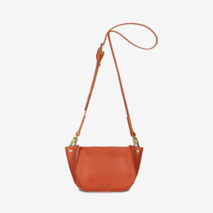Agatha Brandy Grainy Handbag
