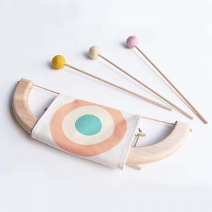 Beech wood bow and arrow set pink