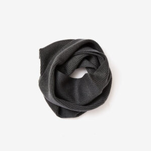 neck warmer, charcoal
