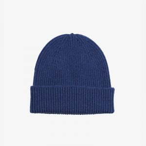 Merino Wool Beanie Royal Blue