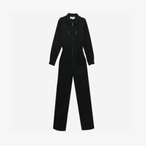 Danny Longsleeve boilersuit Black
